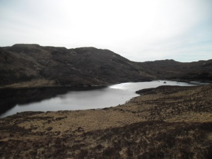 Hilly lochs in southern Sleat